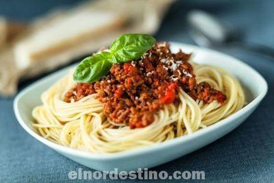 La salsa boloñesa es una de las elaboraciones más conocidas de la cocina que podemos elaborar a partir de ingredientes vegetales