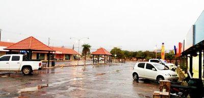 Lluvia trae alivio a zonas del Chaco, pero con volúmenes muy variados