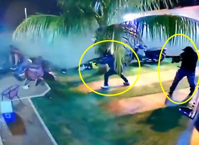 Revelan imágenes de un caso de sicariato en Capitan Bado