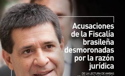 HOY / Acusaciones de la fiscalía brasileña, desmoronadas por la razón jurídica