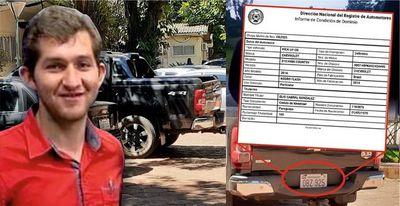 Secretario privado de Miguel Prieto utiliza la camioneta del zacariista Elio Cabral