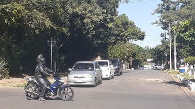 Caótico tránsito en desvío en Fernando