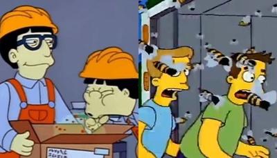 """Escritor de """"Los Simpson"""" habló de predicción del """"COVID"""" y """"abejas asesinas"""""""
