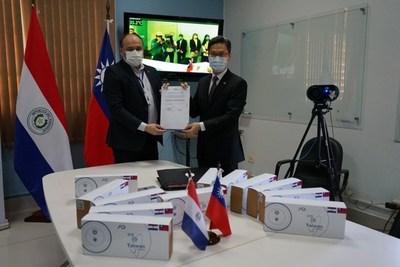 Donación de Taiwán a Salud Pública: Cámaras térmicas para lucha contra el COVID-19