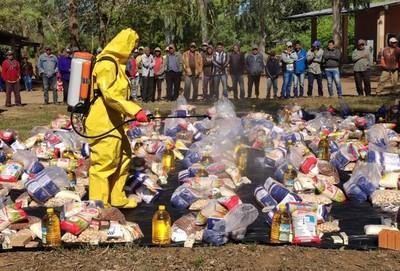 SEN continúan con distribución de unos 2.307 kits de alimentos en Boquerón