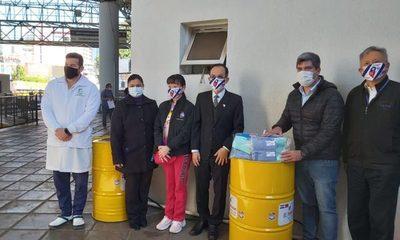 Donan 8 lavamanos para la Zona Primaria del Puente de la Amistad