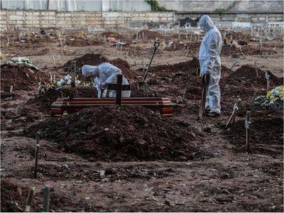 Brasil suma 751 muertes por Covid-19 en un día y roza los 10.000 fallecidos