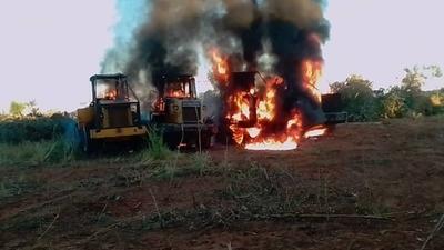 HOY / ¿Reaparece el EPP?: queman cuatro maquinarias de una estancia