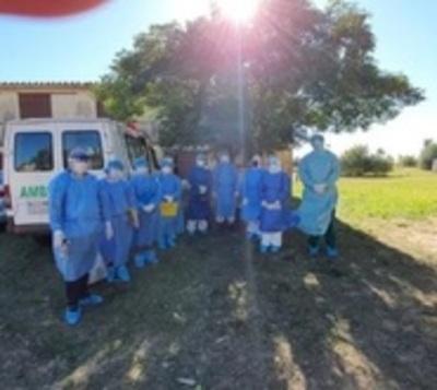 Paraguayos que llegaron de Brasil fueron trasladados a un albergue