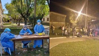 Tomaron muestras a los 49 compatriotas procedentes del Brasil albergados en Ayolas