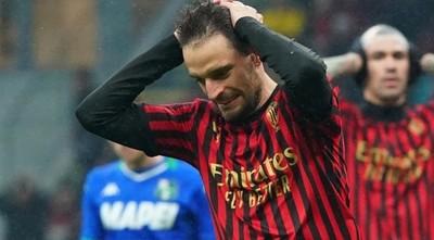Nuevos contagios en el plantel del Milán