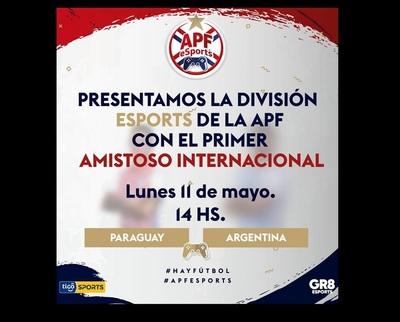 Paraguay se estrena ante Argentina en amistoso internacional