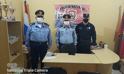 Cambian a jefe de la Comisaría Primera tras denuncias por extorsión a comerciantes