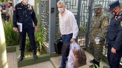 Intendente de Pedro Juan Caballero es trasladado a cuartel militar para cumplir cuarentena