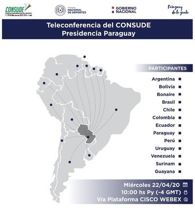 Anuncian segunda reunión del Consejo Sudamericano de Deportes