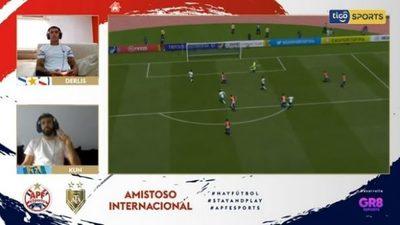 """Paraguay cae en """"amistoso internacional"""" y partido se vuelve tendencia"""