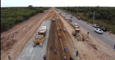 Avanzan trabajos de ampliación de la Ruta Transchaco