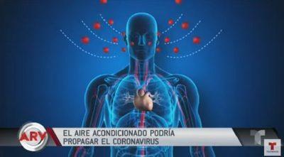 Ductos de aire acondicionado transportan el coronavirus, aseguran