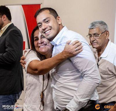 Miguel Prieto LLENA la comuna de CDE con planilleros