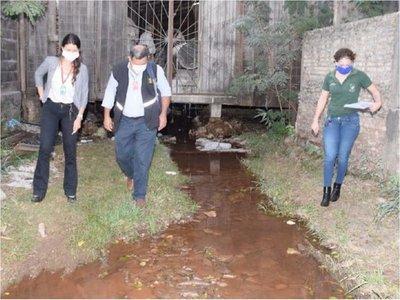 Mades interviene fraccionadora por derrame de químicos