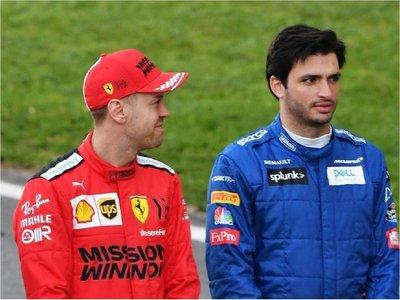 Carlos Sainz, favorito en medios italianos para sustituir a Vettel en Ferrari