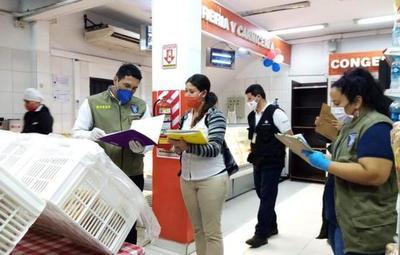 Fiscalía y Municipalidad constataron irregularidades sanitarias en varios comercios