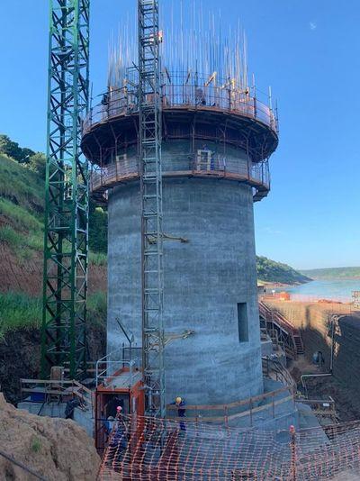 """Rápido  avance de la construcción del  """"Puente de la Integración"""""""