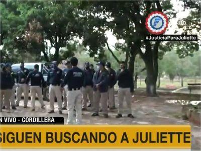Caso Juliette: Nuevo operativo de búsqueda en condominio privado de Emboscada
