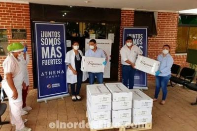 Empresa frigorífica ubicada en Belén entregó setecientos kilos de carne al Hospital Regional del IPS de Concepción