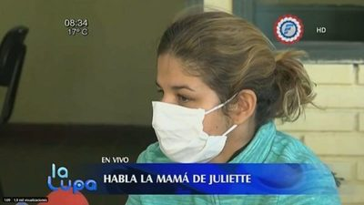#CasoJuliette:  Abuelo denuncia robo de arma de la madre de la niña