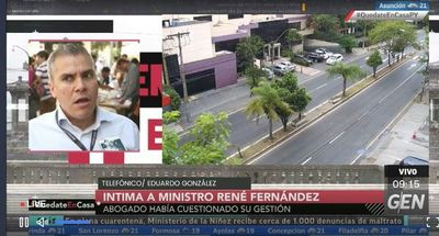 "González afirma que titular de la Senac creó una ""fábula"" en su contra"