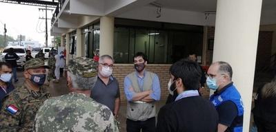 Verifican manejo de albergues y hospitales en Canindeyú