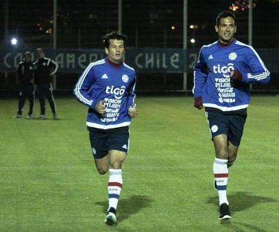 ¡Roque Santa Cruz y Nelson Haedo vuelven a jugar juntos!