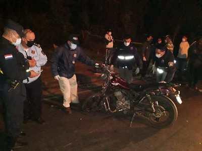 Dos hermanos mueren en accidente de moto en Luque • Luque Noticias