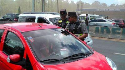 Policía Caminera volverá a controlar desde el 1 de junio
