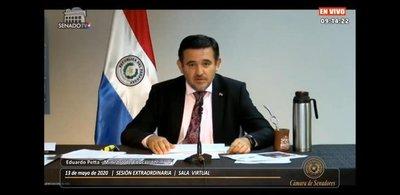 Frente Guasu oficializa pedido de voto de censura contra Petta