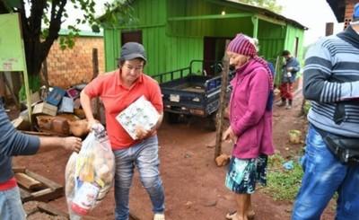 Más de 13.000 kits de alimentos repartidos por Itaipu en Alto Paraná