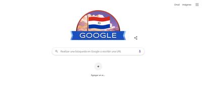 Google felicita a Paraguay por su Independencia