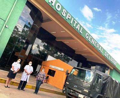 Covid-19: EEUU dona insumos médicos al Hospital de Luque • Luque Noticias