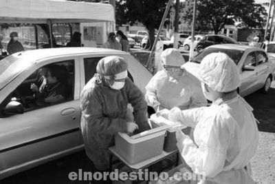 Intensa demanda tuvo el sistema de vacunación Drive Thru realizada por la Municipalidad de Ponta Porã