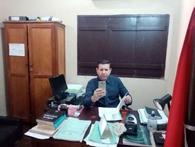 Juez de Paz realizó audiencia por medios telemáticos