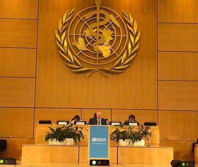 Paraguay participará en Asamblea de la Organización Mundial de la Salud