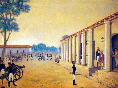 Recuerdan los sucesos que llevaron a la independencia al Paraguay