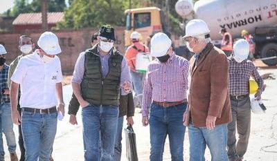 Se reinicia construcción del Complejo de Mariano Roque Alonso
