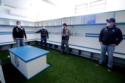 Presidente de Guaireña ve factible jugar de local cuando vuelva el fútbol