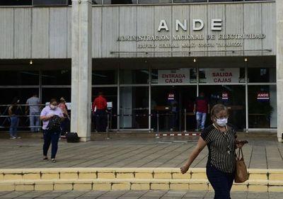Oficinas de la ANDE vuelven a abrirse desde este lunes