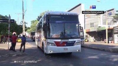 Buses de media y larga distancia regresan este lunes