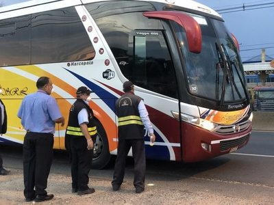 Transporte de pasajeros a todo el país se restablece este lunes