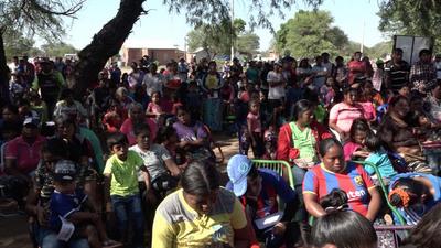 SEN asistió a casi 4.000 familias en el Chaco