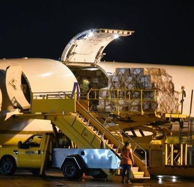 Aduanas liberó carga de medicamentos llegados de China